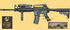 Colt -Full metal M4 RIS (BI-5181M DX-1)